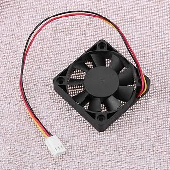 3 Pin CPU 12V 50*10mm Soðutucu Fan Radyatör Ýçin Led Pc DIY Proje