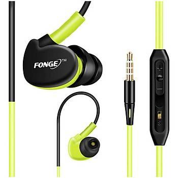 FONGE S500 mikrofonlu kulak içi spor kulaklýk