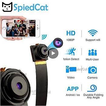 1080P Full HD IP P2P Ultra Mini Wifi Kamera Flex Video Ses Kaydedici Hareket Algýlama