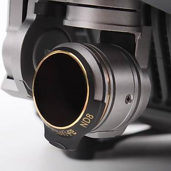 DJI Mavic Pro Alpine White Kamera Ýçin Kýzaklý Upgrade Versiyon Optik Lens Filtre MCUV