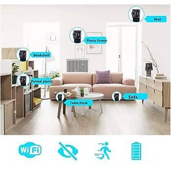 HD 1080P Taþýnabilir WiFi IP Mikro Kamera P2P Kablosuz Webcam Video Kaydedici