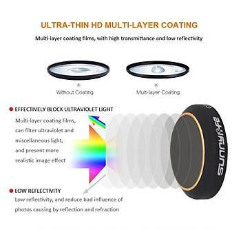DJI Mavic Pro Alpine White Kamera Lens Ýçin  MCUV Ultraviole Filtre