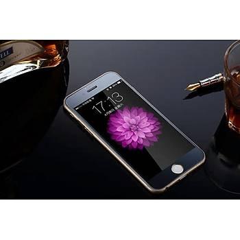 iPhone 6 6S Ýçin Ön/Arka Mirror Aynalý Ekran Koruyucu Tamperli Cam Siyah Renk