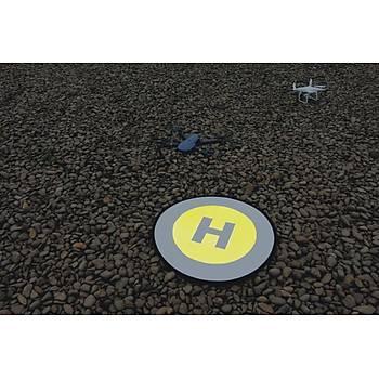 DJI Phantom 4  80 cm Evrensel Dron Ýniþ Pad Katlanabilir Park Önlük