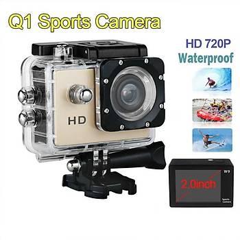 12M 720P Aksiyon Spor Ful Kamera Çanta Hediyeli
