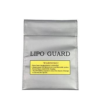 RC LiPo Pil Güvenlik Taþýma Çantasý Safe Guard  Yanmaz Þarj Çantasý 230X300mm