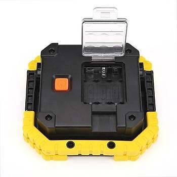20W LED COB Acil Durum Spot Lambasý 4500lm Iþýk 3 Mod Portatif