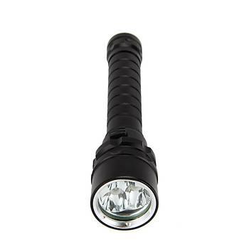 30W 100-200m Su Geçirmez Dalýþ UV Feneri 365-395nm