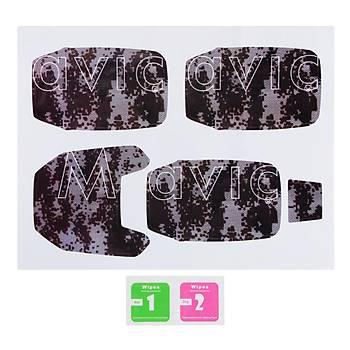 Mavic Pro PVC Su Geçirmez Kaplama Etiket Desen C