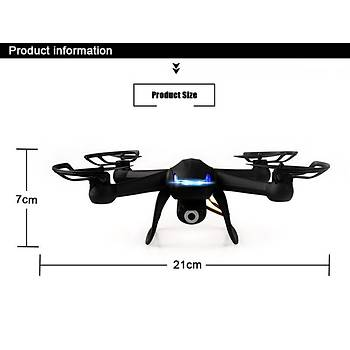 Dron KAINISI 007 21cm HD FPV WIFI Gerçek Zamanlý Kamera