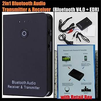 Bluetooth RX/TX Verici/Alýcý Kablosuz A2DP Ses Müzik Adaptörü Audio Player