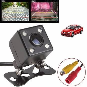 Araç Arka Kamera Evrensel IP67 Su Geçirmez LED RCA Gece Görüþ Park Yardýmý