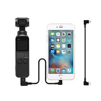Dji Osmo Pocket Veri Baðlantý Kablosu IOS Telefon ve Tabletler Ýçin Uyumlu