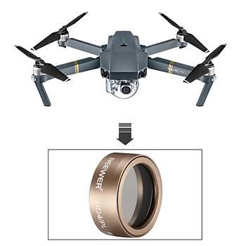 Mavic Pro Alüminyum Filtre Lens ND8