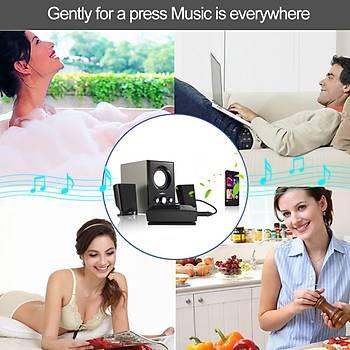 Bluetooth Ses Alýcý Araç Kiti sistemi Stereo Müzik Adaptörü 3.5mm AUX