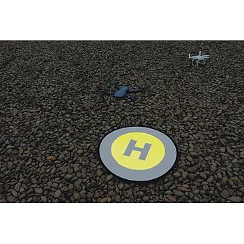 DJI Mavic Air 80 cm Evrensel Dron Ýniþ Pad Katlanabilir Park Önlük
