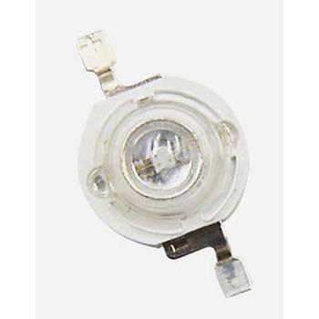 3W UV Boncuk Power Led 365-370nm 2-3 lumen 700 mAh 45 Mil 3.4-3.8V