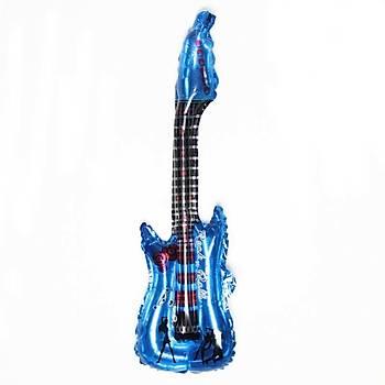 Folyo Balon 85x30 Gitar Parti Doðumgünü Kutlama