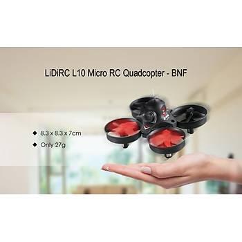 Dron Racer LiDiRC L10 Micro Quadcopter Wifi Telefondan Kontrol