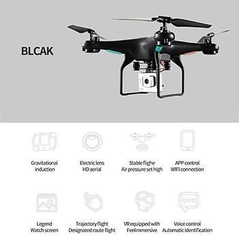 Drone 720P HD Kameralý 0.3W Hover Mod Katlanabilir Kumanda