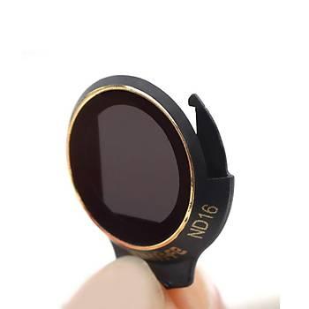 DJI Mavic Pro Alpine White Kamera Ýçin Kýzaklý Optik Lens 6 lý Filtre Set MCUV + CPL + ND8