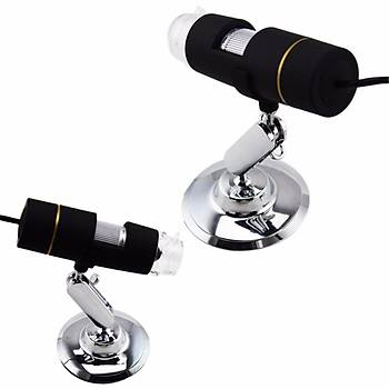 1000X USB Dijital Mikroskop  8 LED Ayarlanabilir Stand