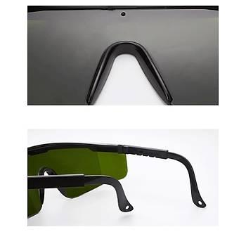 IPL Koruyucu Koyu Yeþil Laser Güvenlik Gözlük Koruma Aralýðý 200 - 1200nm