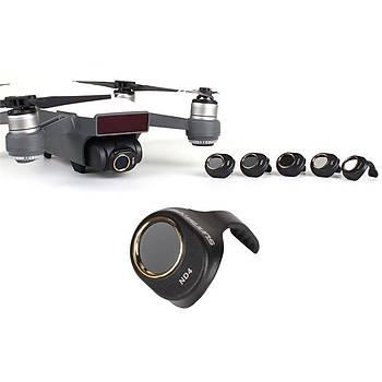 DJI Spark Gimbal Kamera HD ND4 Filtre Optik Lens