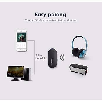 Kablosuz Bluetooth Ses Verici 3.5mm A2DP Stereo Müzik Adaptörü