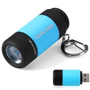 Mini USB þarjlý pil istemez su geçirmez El Fener