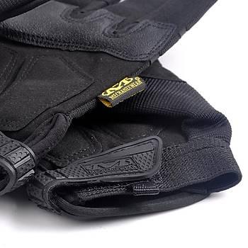 Kýþlýk Motorsiklet - Bisiklet - Taktik Tam Parmak Eldiven XL