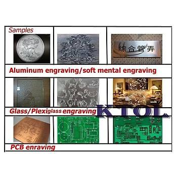 Tungsten Karbür PCB Kesme CNC Freze Ahþap Ýþleme 0.9mm 10 Adet