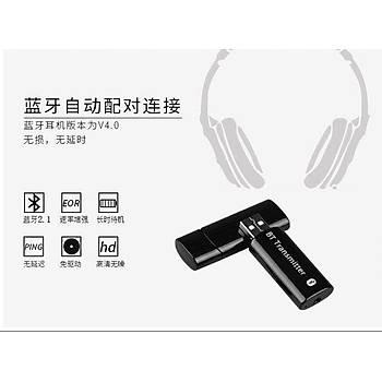 USB Bluetooth Verici 3.5mm Kablosuz Ses Müzik Verici A2DP