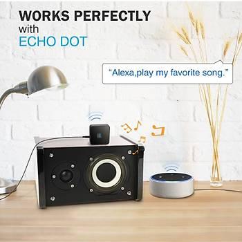 Bluetooth 4.1 Müzik Alýcýsý ile Gürültü Ýzolatör Stereo Ses Adaptörü