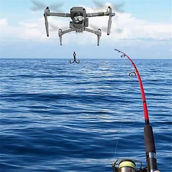 DJI Mavic 2 Zoom Ýçin Havadan Ýndirme (Atma) Sistemi Balýkçýlýk Yüzük Hediye Teslimat
