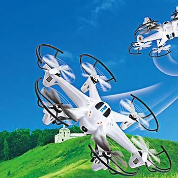 Drone SK D22 4-Channel 6-Axis 2.4 GHz RC Hexrcopter 6 Pervaneli