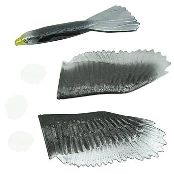 EPP Köpük Uçak Elden Fýrlatma Kartal Planör 57 cm Kanat Geniþliði 32 cm Boy