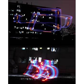 DJI Spark 5 Renk LED Flaþ Pervane 2 Adet 1CW 1xCCW Þarj Edilebilir