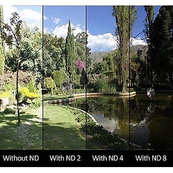 DJI Mavic Pro HD ND8PL Filtre Optik Lens Siyah Alüminyum