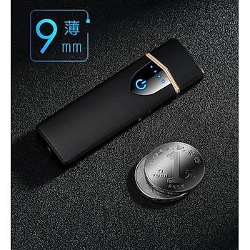 Elektronik USB Þarjlý Tungsten Ýndüksiyon Dokunmatik Çakmak