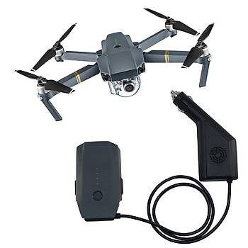 DJI Mavic Pro Drone Için Araç Þarj Adaptörü Pil Güç Þarj Çýkýþý
