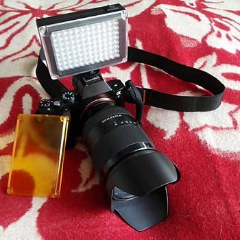 112 LED Profesyonel Video Fotoraf Stüdyo Dolgu Iþýðý SLR DSLR Kamera Ýçin