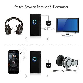 Bluetooth Stereo Ses-Müzik Alýcý-Vericisi TX-RX