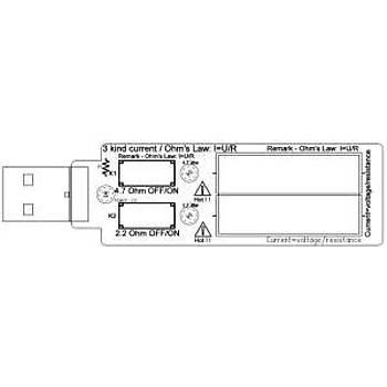 USB Elektronik 5V1A 2A 3A Gerilim Deþarj Direnci Test