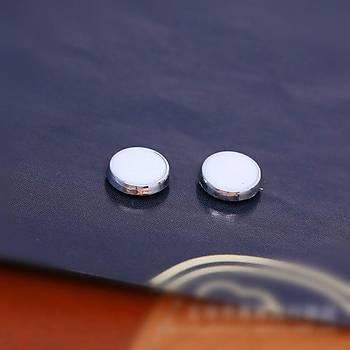 Manyetik Klip Kulak Küpe Saðlýklý Uyarýcý Manyetik Terapi Akupunktur 1 Çift