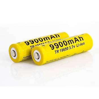 9900mAh 3.7Volt 18650 Li-lon GIF Marka Pil