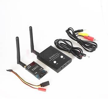 FPV RX-TX SET 5.8 Ghz 600 mW 48CH Kablosuz verici alýcý