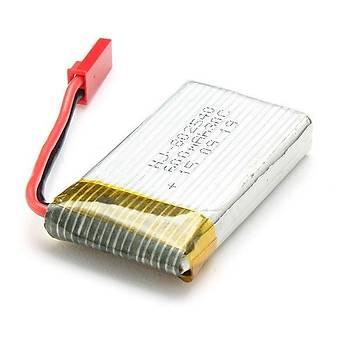Þarj Kablosu 3.7V USB JST Kýrmýzý Uçlu Lipo Piller Ýçin