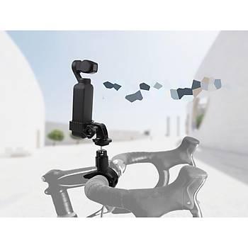 Dji Osmo Pocket Ýçin Alüminyum Alaþýmlý Motorsiklet Bisiklet Kelepçe Adaptörü