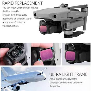 DJI Mavic Air 2 Lens Filtre Seti MCUV CPL ND4 ND8 ND16 ND32